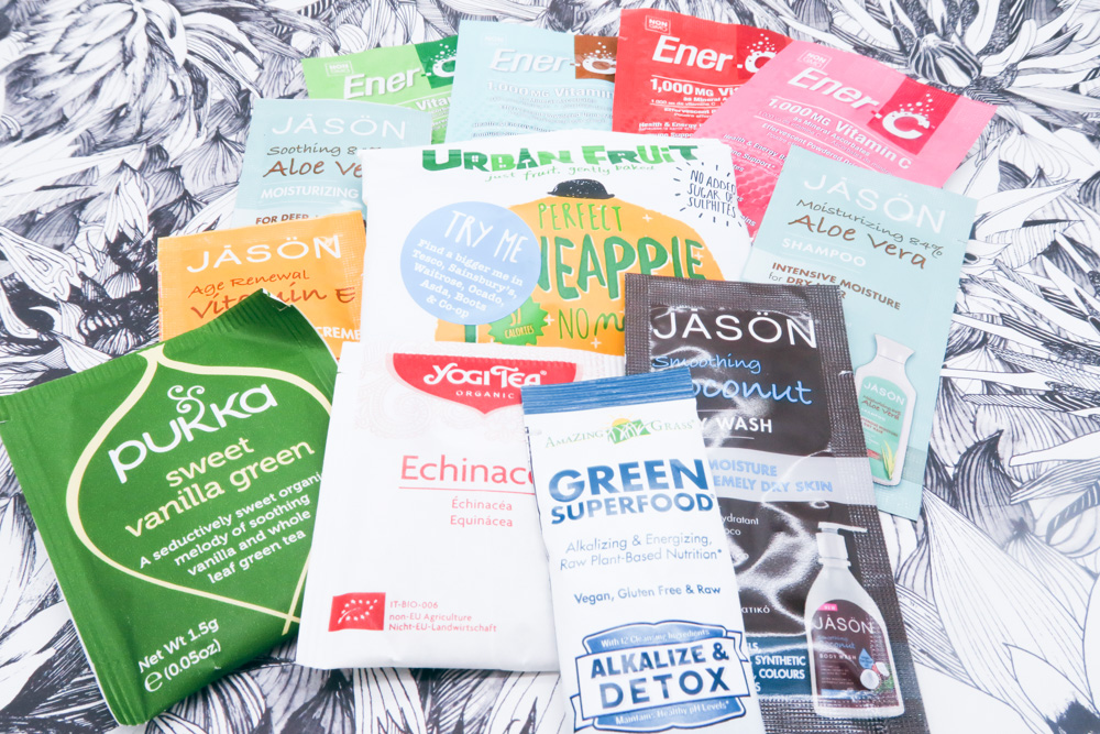 Look! Freebies! Ok, the ticket was a tenner and there was fuel to get to and from London, but FREE TEABAGS!
