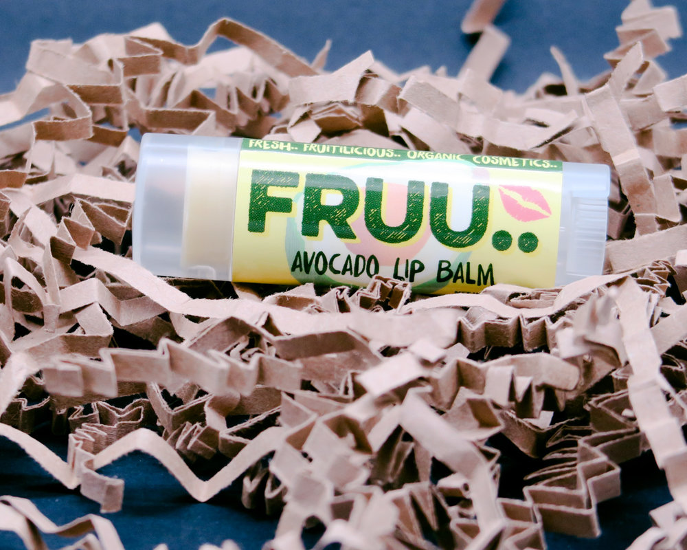 When your lip balm obsession and your avocado obsession collide on your face.