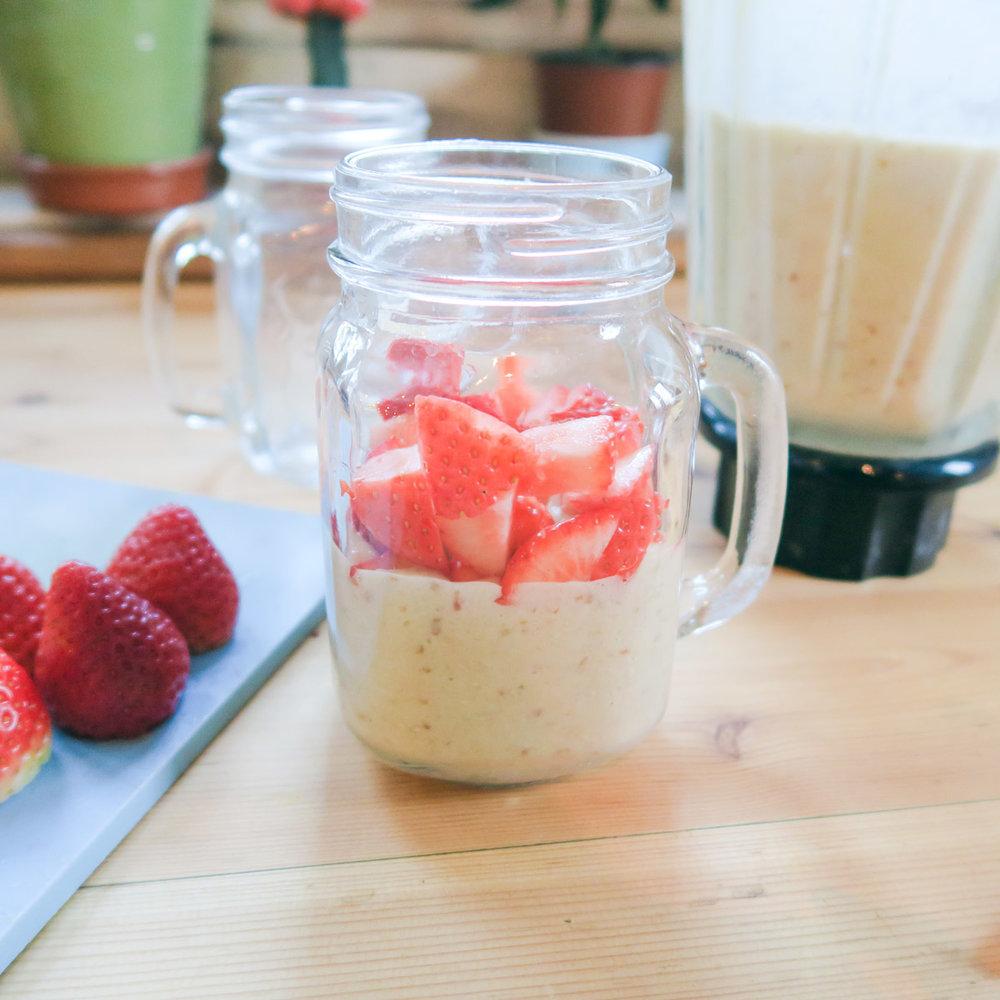 Glass Half Full... of strawberries.