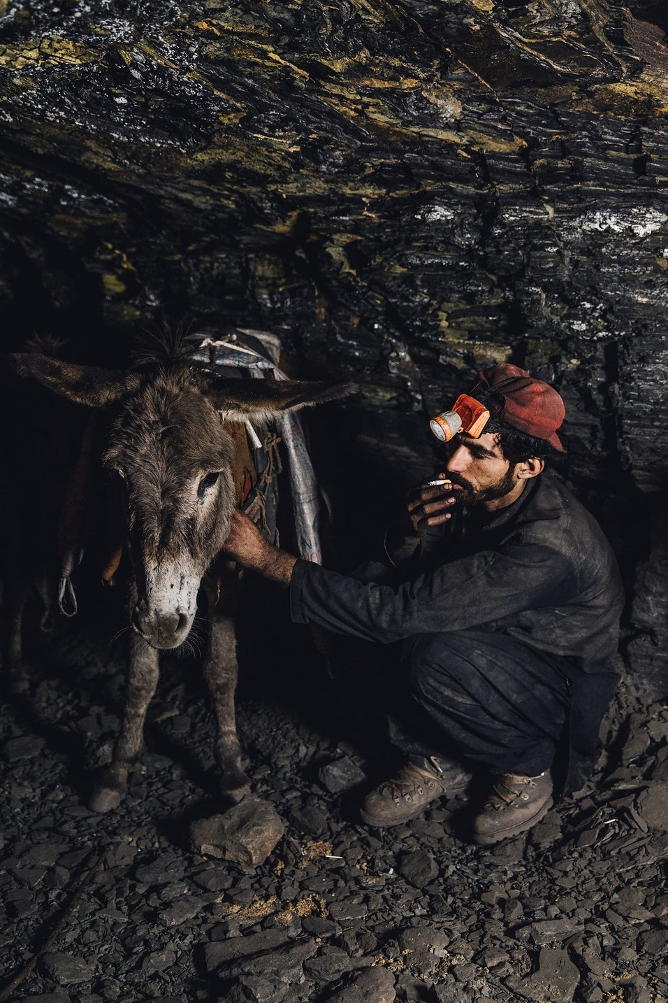 A day in the life in a coalmine. © Freya Dowson – Brooke