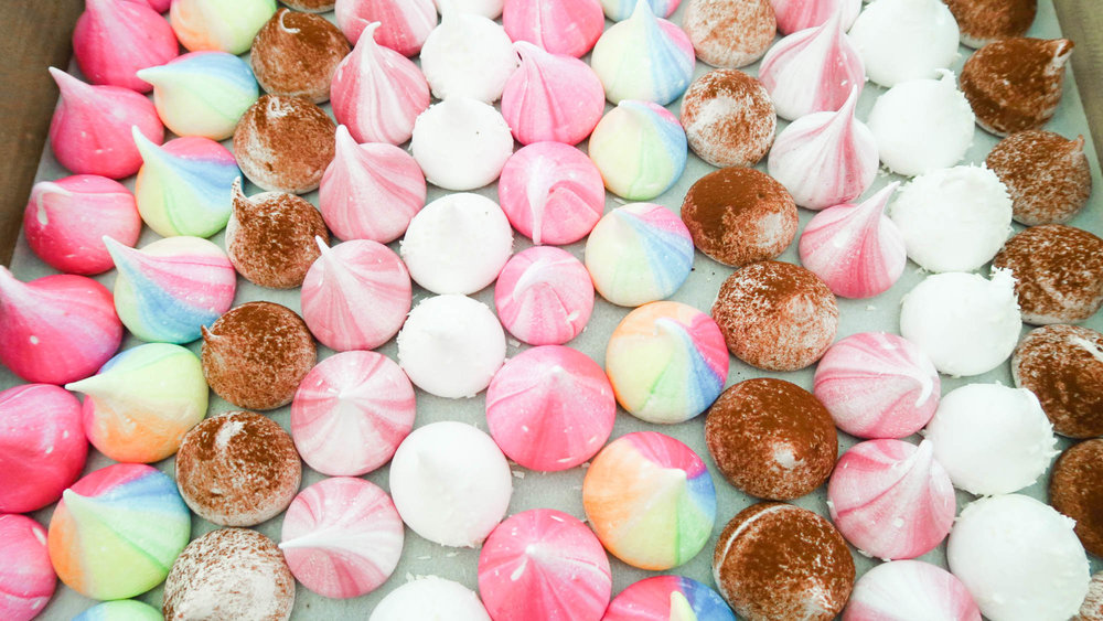 Meringues from Meringue Girls