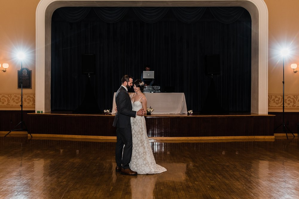 first dance in andover town house