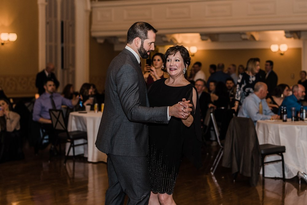 mother and groom dance andover town house