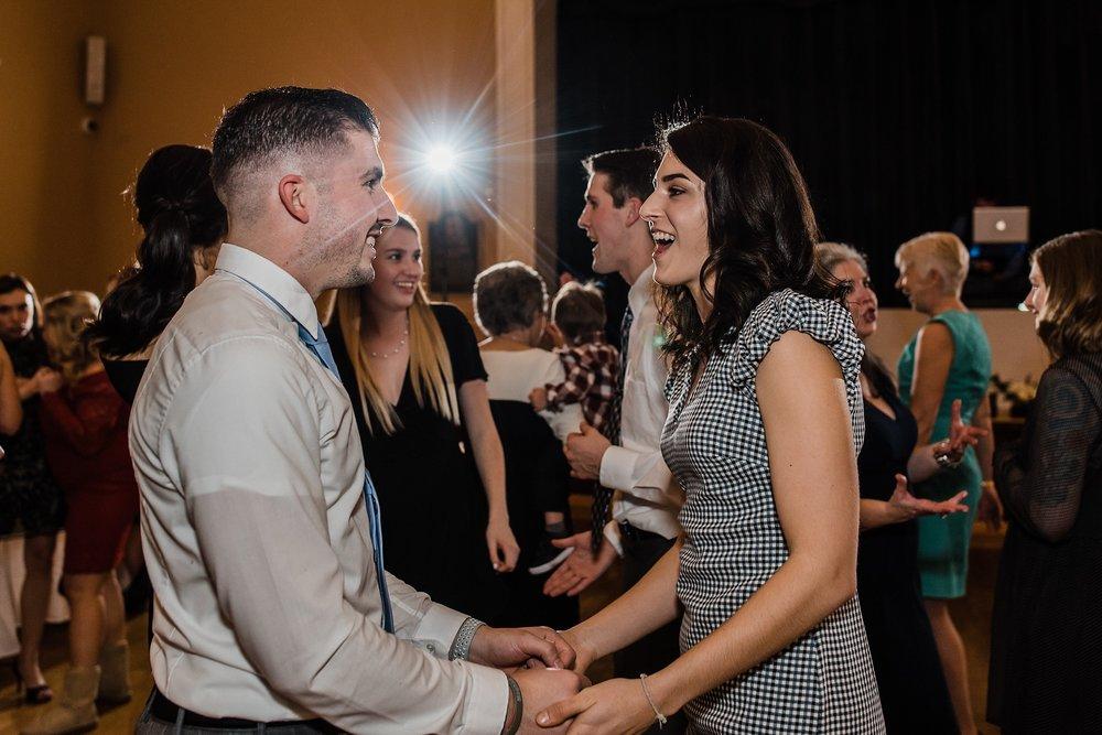 dancing photo wedding reception andover