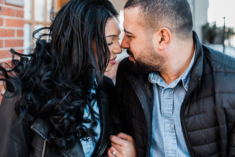 boston bride and groom in downtown newburyport