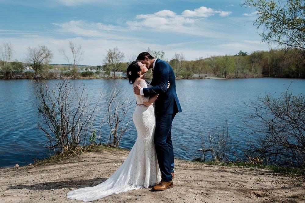 boston wedding couple