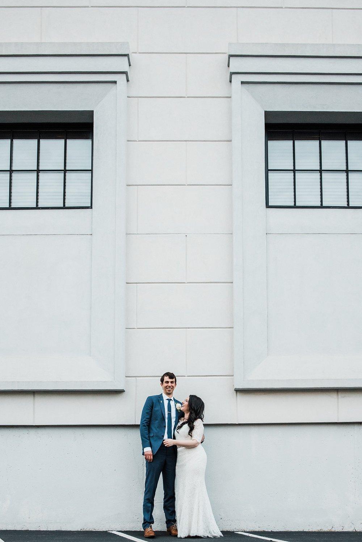 boston bride and groom