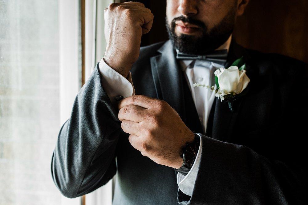 groom getting ready boston