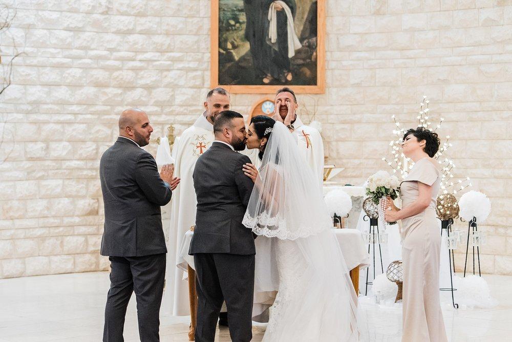 first kiss boston wedding
