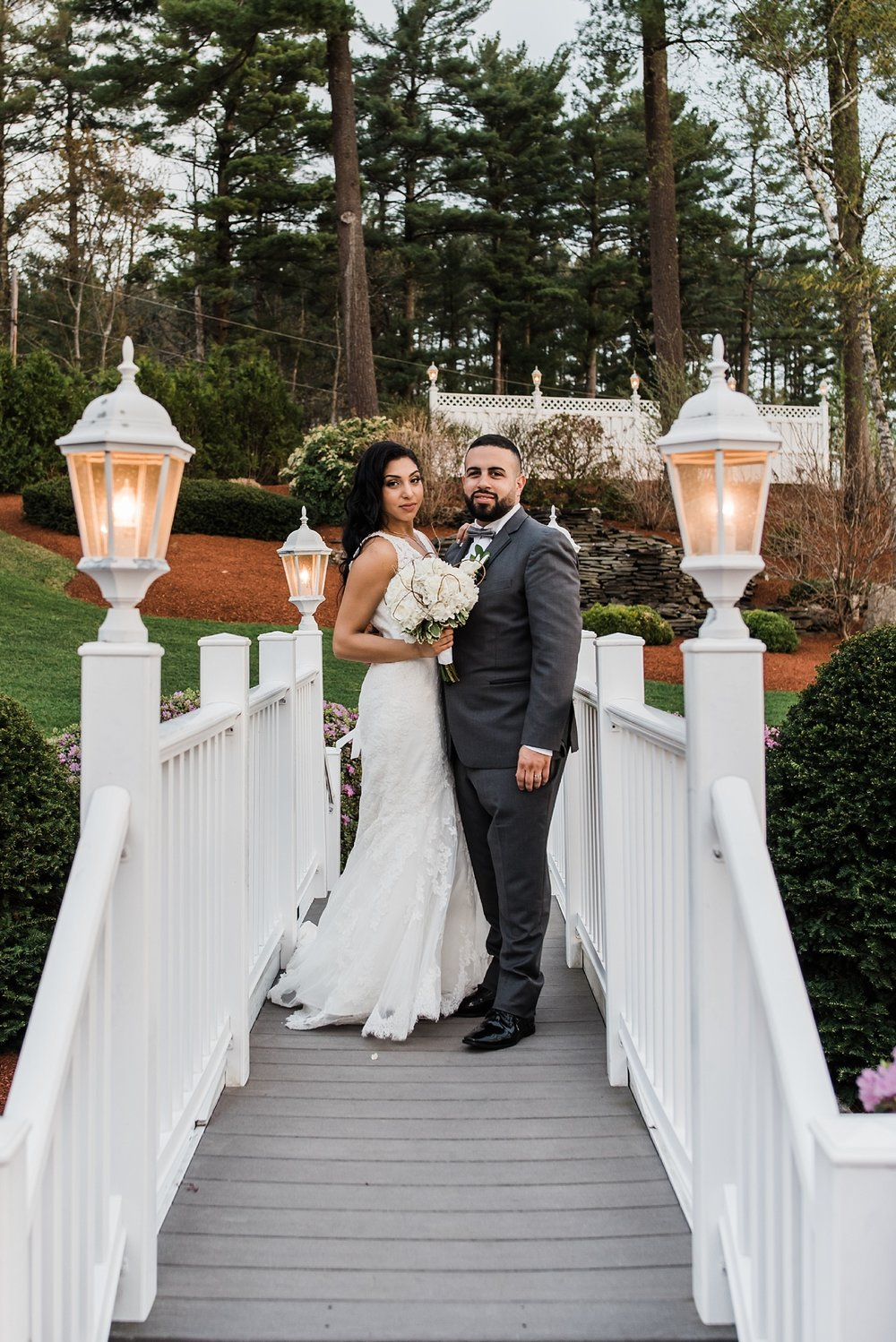 new hampshire bride and groom