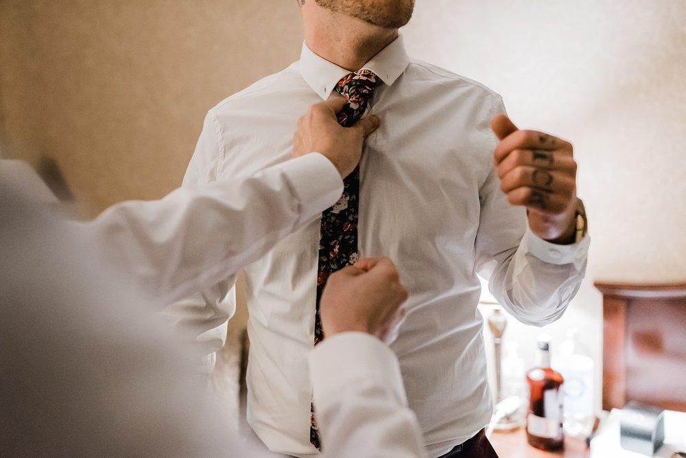 interlaken inn groom getting ready