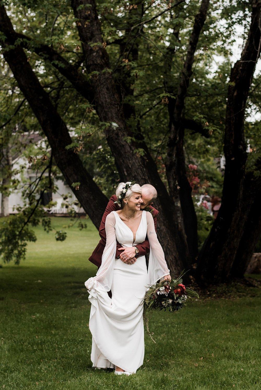 bride and groom CT wedding