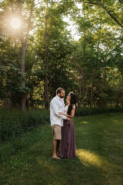 syracuse couple engagement photo