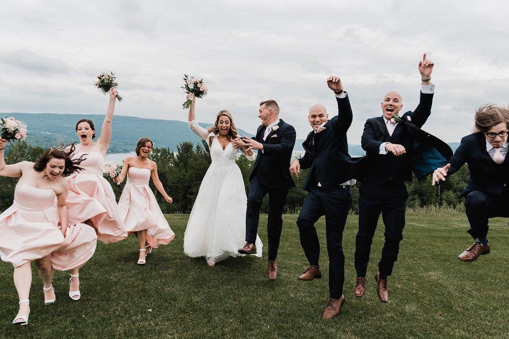 fun bridal party photo ny