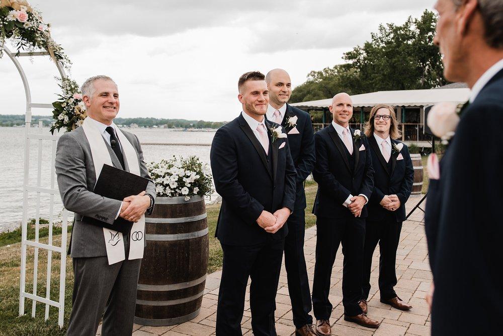 groom wedding ceremony new york