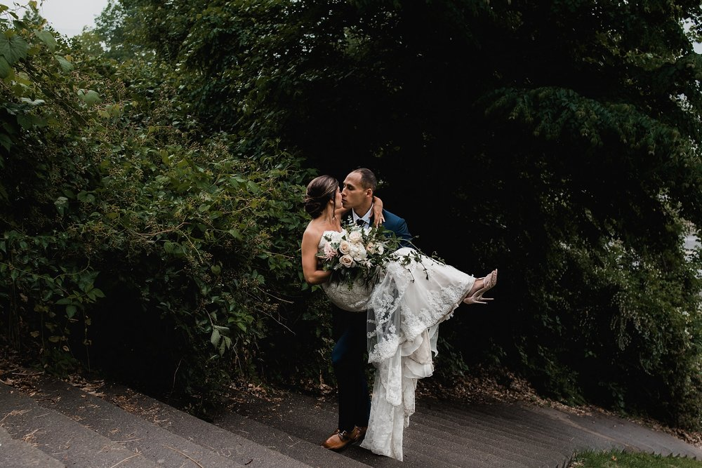 rochester wedding couple