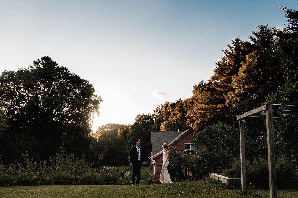 masschusetts backyard wedding