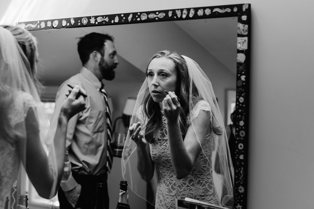 bride getting ready photo ny