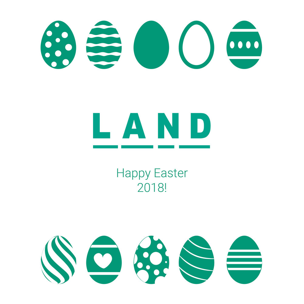 Happy Easter LAND 2018