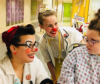 We love our Humorology Atlanta Clowns so much! - They are always there to cheer our daughter up when she is in the hospital.