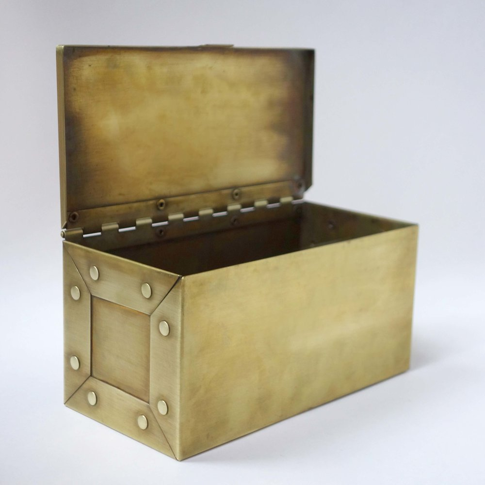 finished box (brass)