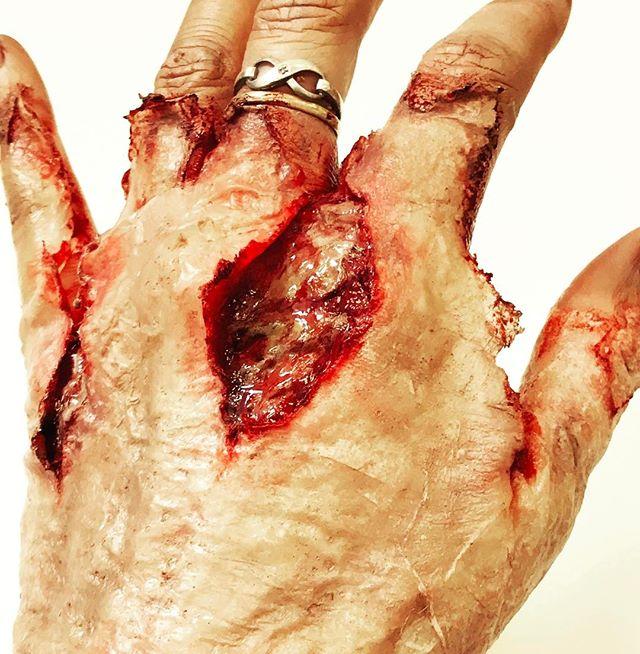 #gross #blood #ksfxmakeup #ksfx #specialfxmakeup #sfx #sfxmakeup #specialfxartist #specialfx #zombie #boiledskin