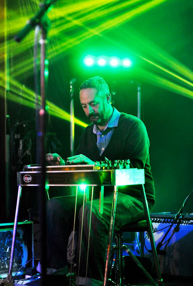 Mike Racky  (pedal steel)