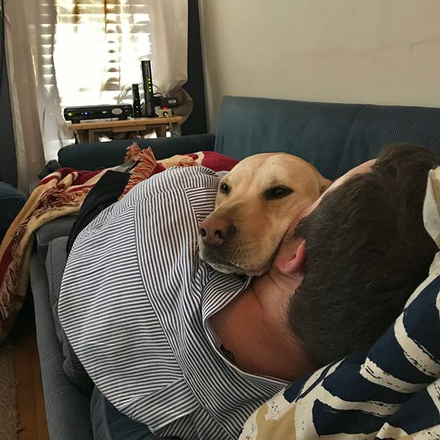 The best cure for a ruff Monday is hugs and snuggles.