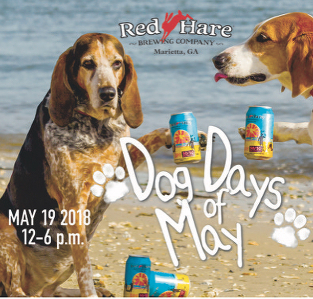 Atlanta area friends! Join us for Dog Days of May @redharebrewing tomorrow. Beer, live music, puppies & more! Meet Remi @ the PPB tent!