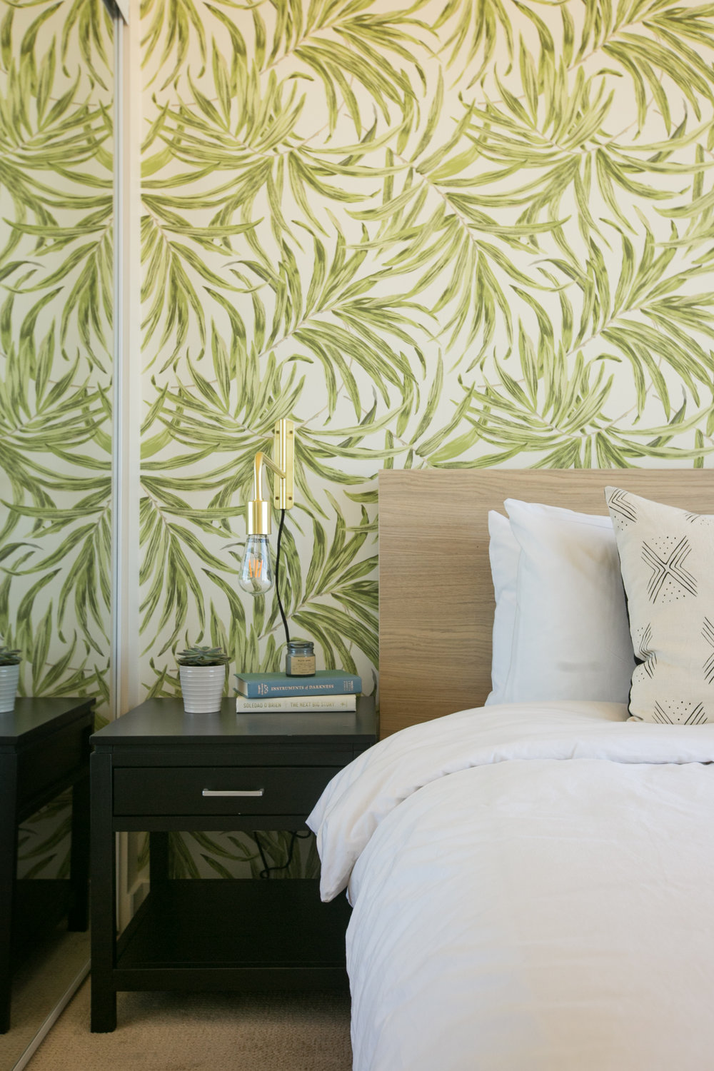Sonder rentals bedroom design by Sundling Studio