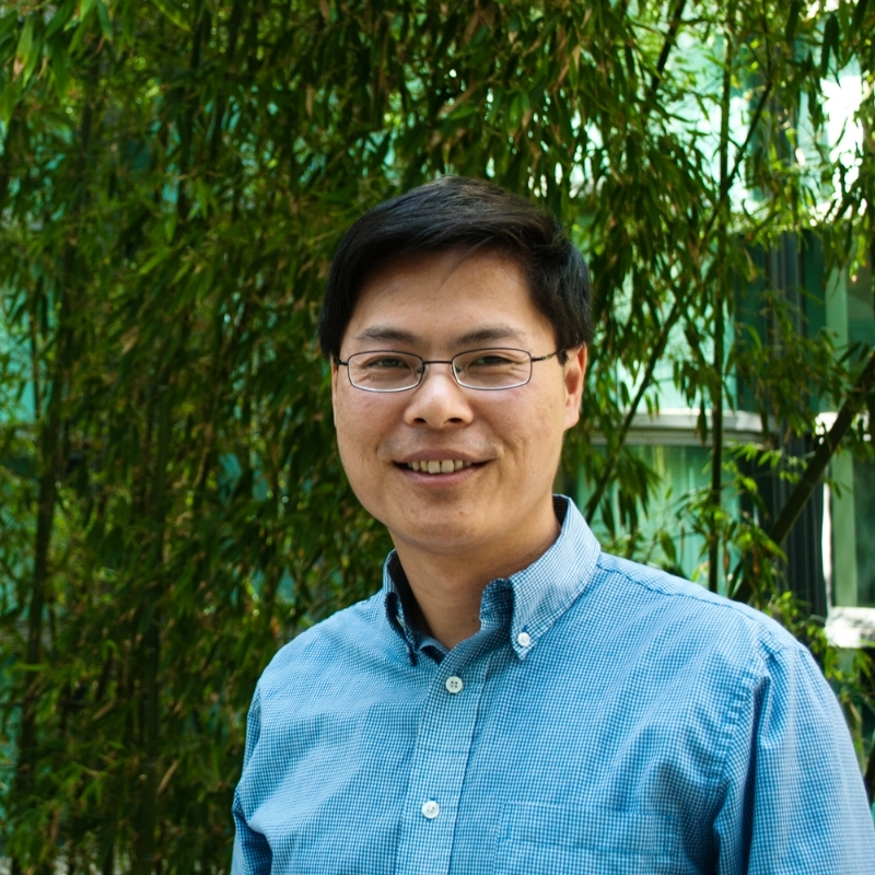 Professor Lin was selected as one of 12 recipients of 2013's NIH Pioneer Award, a $2.5 million award for high-risk high-impact research. Image courtesy of Michael Lin.