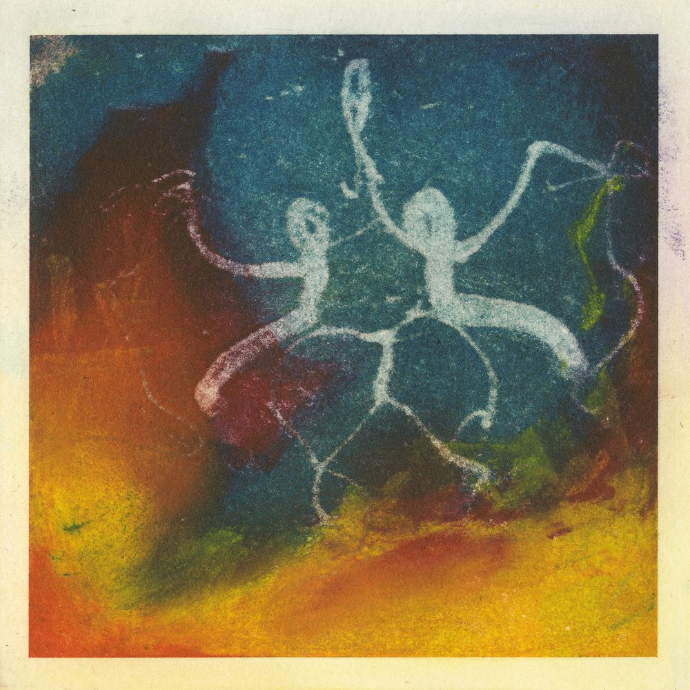 """Celebration"" by Elizabeth Jameson. Solarplate Etching on Paper."