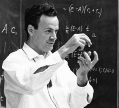 California Institute of TechnologyProfessor Richard Feynman, the father of nanotechnology.