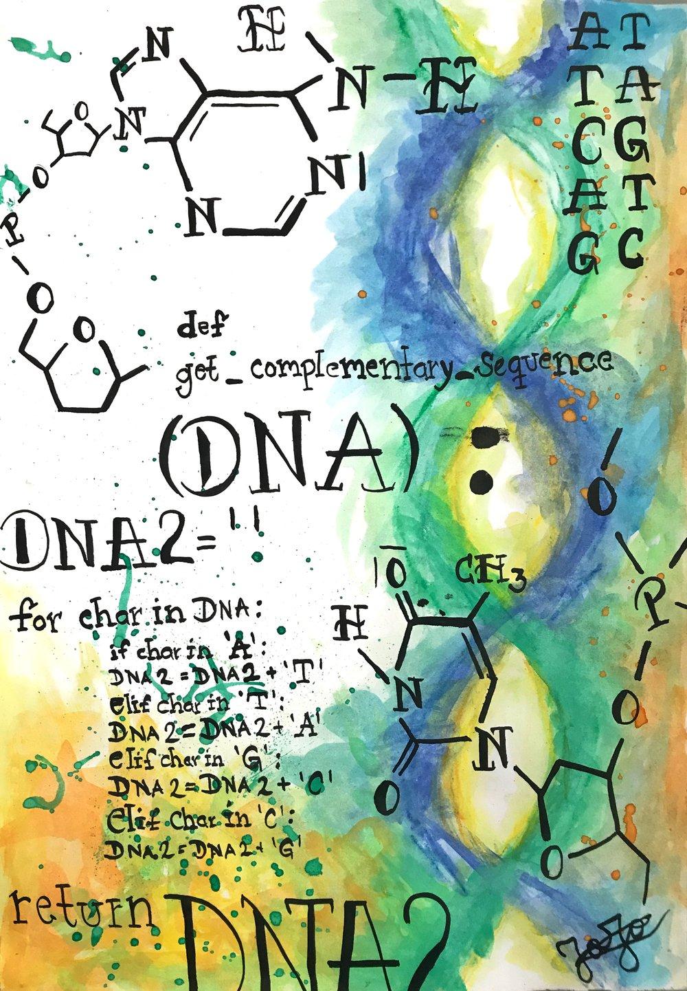 """""""DNA Algorithms"""" by Majo Lozano"""