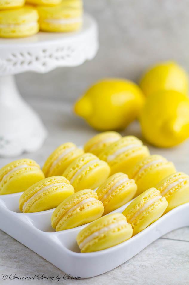 Lemon French Macarons Sweet and Savory by Shinee