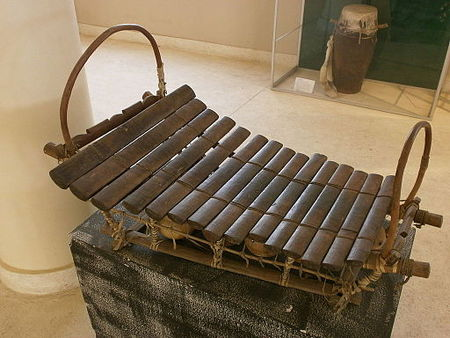 A Bwa xylophone from Mali.