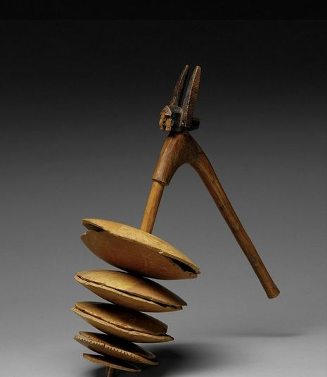 Bamana circumcision musical instrument. This instrument is used during the celebration marking the return of the young circumcised to the village. Kelea, Sikasso region, Mali. Early 20th century.
