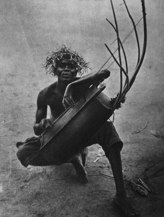 A Congo musician.