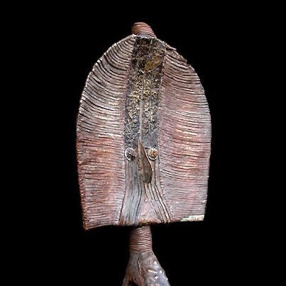 A Mahongwe Bwiti mask, Gabon.