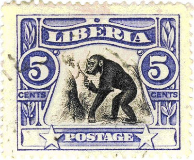 A Liberian postage stamp featuring the koola-kamba.