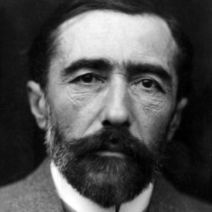 Above: Joseph Conrad