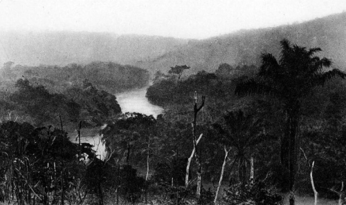 The Congo river near Lefubu, 1888. Photo by Alexandre Delcommune.