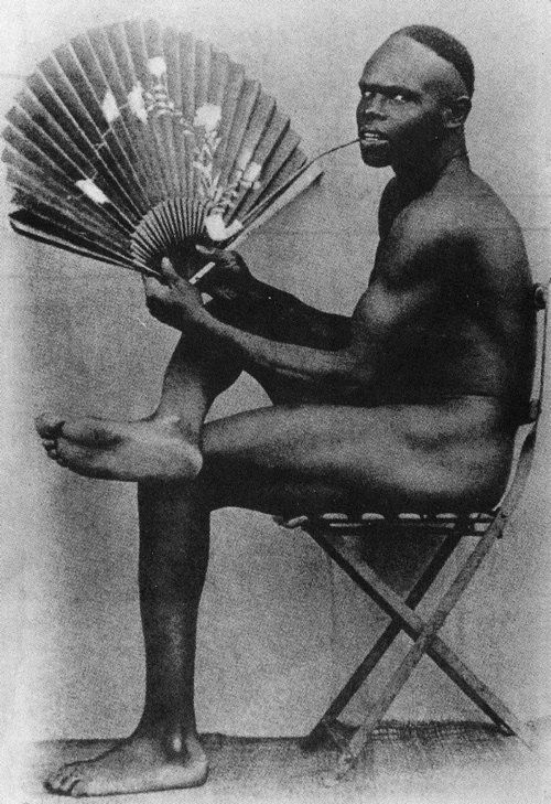 A French colonial photograph, ca. 1900.
