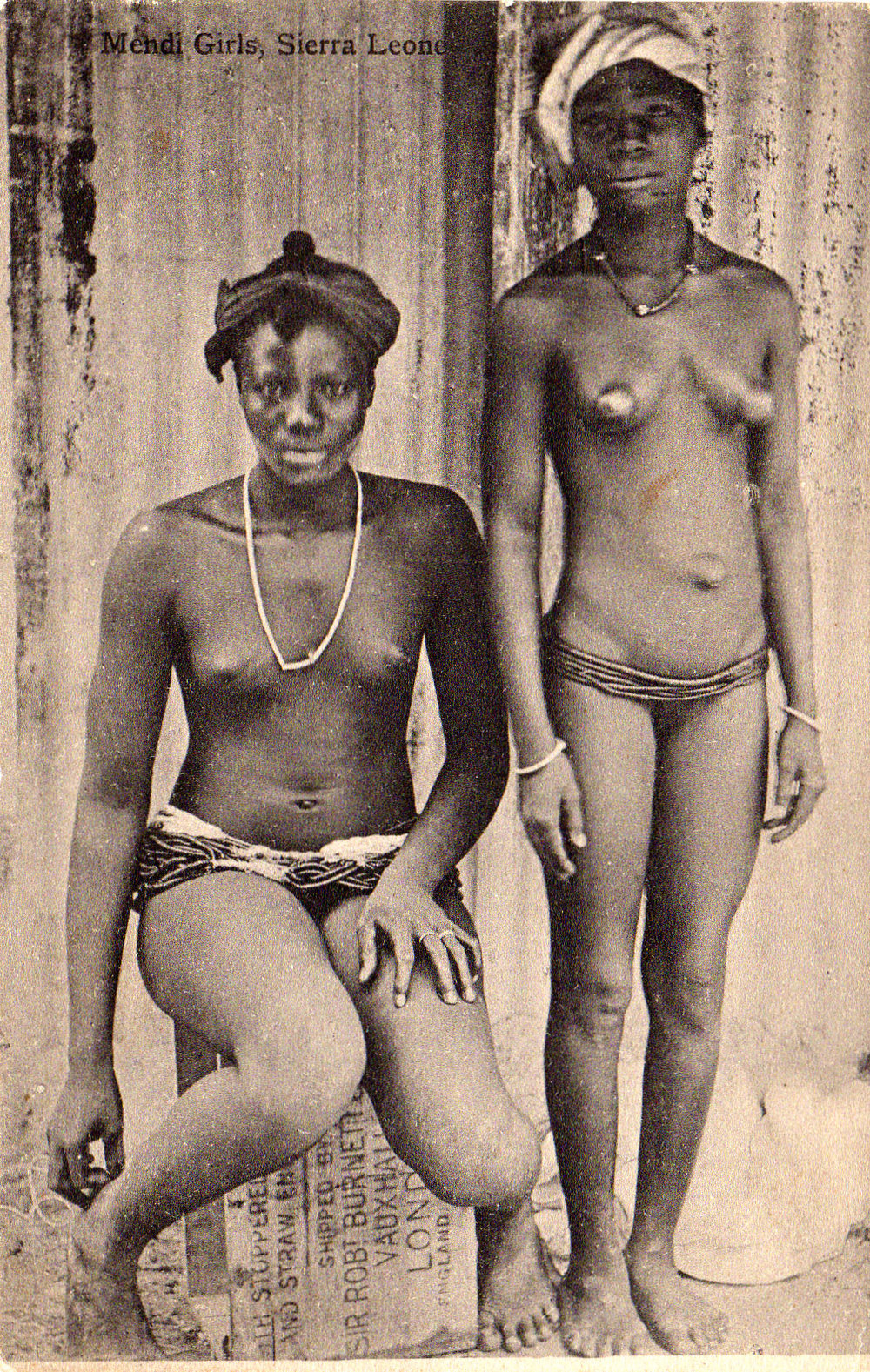 Mendi girls in Sierra Leone.