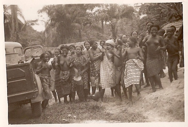 A Congo village in the 1950s.