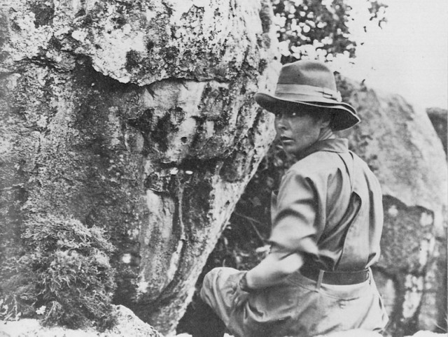 Above: Delia Akely, an American sent to Africa to hunt elephants in 1905.
