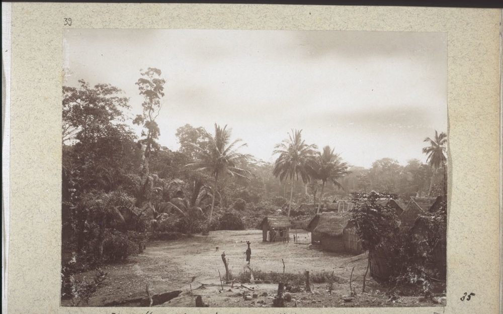 A village in the West African interior, 1888.