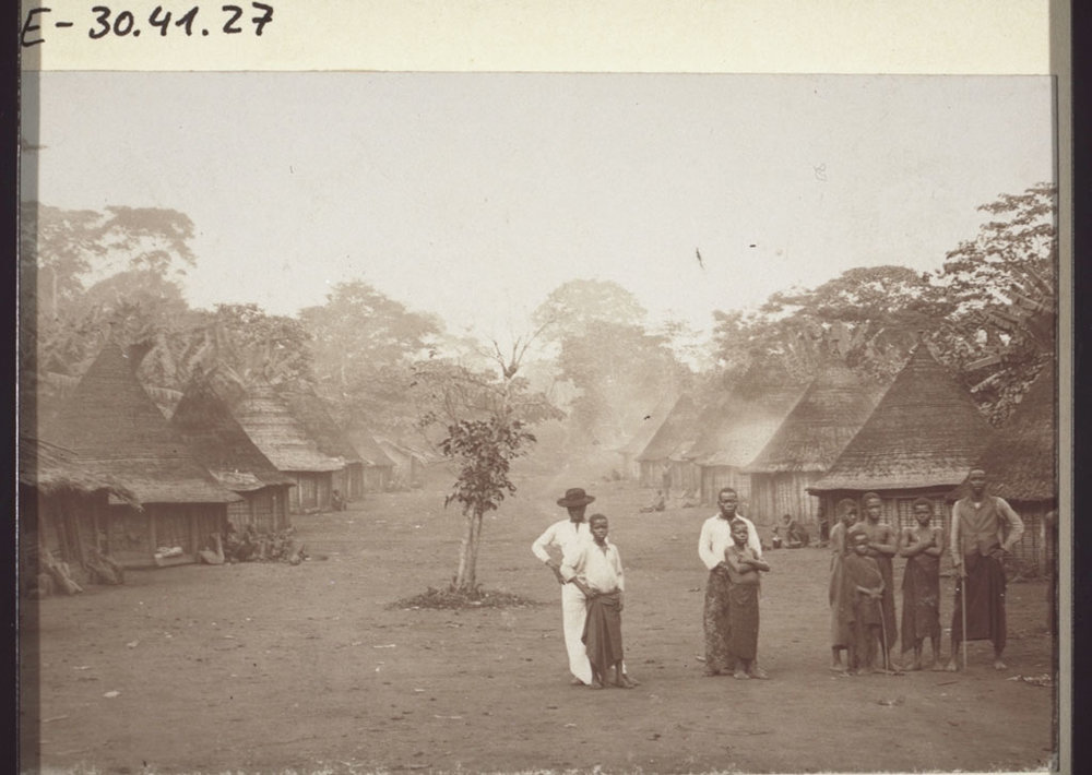 Nyasoso region of Cameroon in 1895.