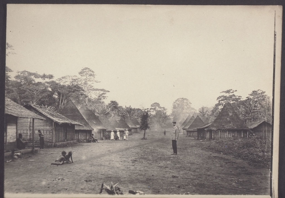 A village in Cameroon, 1895.