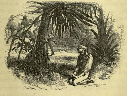 "Above: Frontispiece of Scottish explorer Mungo Park's book ""Travels in the Interior of Africa"" (1858 ed.)"